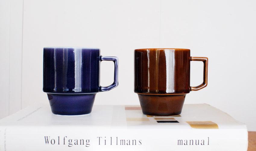 普段使いに愛用♪  陶器のマグカップ「HASAMI ブロックマグ 」