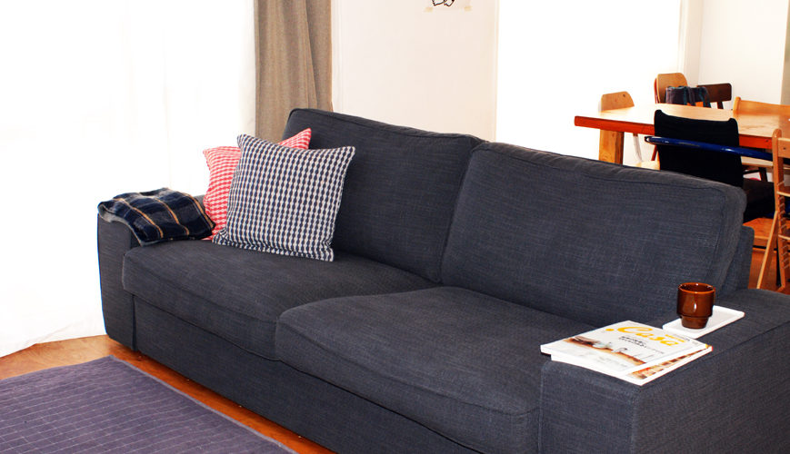 IKEAの3人掛けソファ(シーヴィク)を購入!そして組み立てました!