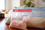お米の冷蔵庫 保存に「IKEAのISTAD プラスチック袋」を採用!
