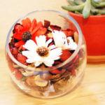香りを飾ろう♪    IKEAポプリ×ニトリ花瓶