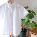 この夏大活躍!着回し力抜群ユニクロ半袖白シャツ
